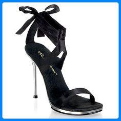 Fabulicious Chic-14 - sexy High Heels Sandaletten mit Metall-Absatz 35-42, Größe:EU-37 / US-7 / UK-4 - Damen pumps (*Partner-Link)