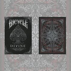 Bicycle Divine Deck by U.S. Playing Card Company - 'That deep emotional conviction of the presence of a superior reasoning power, which is revealed in the incomprehensible universe, forms my idea of God.' - Albert Einstein A DIVINE deck: The Divine Playing Cards were designed using a mathematical pattern discovered in 1200 A.D. that seems to be the key to ... get it here: http://www.wizardhq.com/servlet/the-14532/bicycle-divine-deck-by-u-s-playing-card-company/Detail?source=pintrest