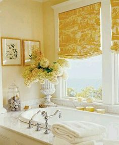 Yellow Toile ~ refreshingly different color pallet