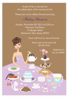 Baby Shower Tea Party Ideas on Pinterest | Tea Party Baby Shower ... : Baby Shower Tea Party Invitation Wording For Kids
