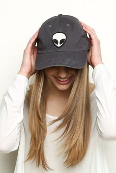 "Waves App - So good. ""Katherine Alien Patch Baseball Cap "" on Dash ..."