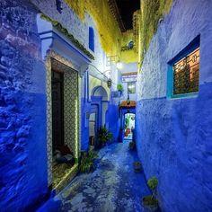 Chefchaouen est encore plus belle la nuit, la preuve en 12 photos !