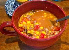The Self-Trained Chef: Taco Soup