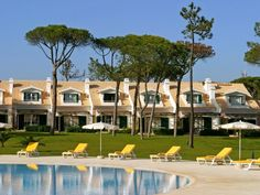 A beautifully located self-catering holiday village situated, as it is, between the world heritage town of Sintra and the sandy beaches of the attractive resort of Cascais. The general architecture of. Golf Hotel, Sandy Beaches, Strand, Algarve, Portugal, Dolores Park, Around The Worlds, Mansions, Architecture