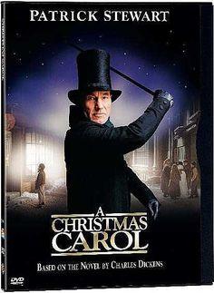Christmas Carol starring Patrick Stewart.