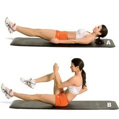 8 ridiculously hard ab exercises...Love these moves!!!