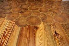 Log floor