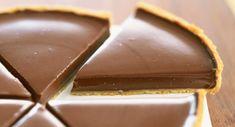 a recette de la tarte au chocolat de Frédéric Anton