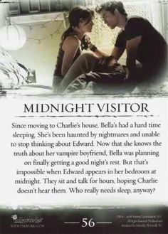 #TwilightSaga #Twilight - Midnight Visitor #56