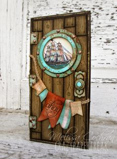 Card by Melissa Cochran  (032814)  [Stampin'Up! (dies) Circles Collection Framelits, Hearts a Flutter Framelits; (punches) Banner, Itty Bitty Shapes Pack, Little Labels Pack; Modern Label, Petite Curly Label; (stamps) Gorgeous Grunge, Hardwood, Hello Sailor, The Open Sea]