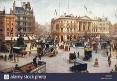 London Image of 'london: piccadilly circus', c by Science & Society Picture Library View and buy rights managed stock photos at Science & Society Picture Library. Piccadilly Circus, Vintage London, Old London, History Of England, The Lost World, London Street, Old Pictures, First World, Street View