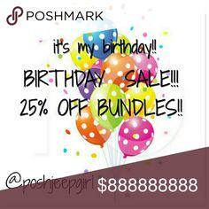 Birthday sale!!! 25% off bundles!!!  Now through Wednesday!! Lane Bryant Tops
