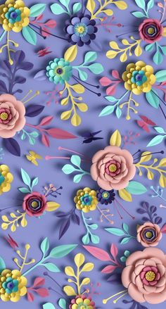 Paper flowers background Flowers live wallpapers for your iPhone XS from Everpix Live Iphone Wallpaper Video, Lock Screen Wallpaper Iphone, Flower Phone Wallpaper, Cute Wallpaper For Phone, Cute Wallpaper Backgrounds, Flower Backgrounds, Pink Wallpaper, Galaxy Wallpaper, Colorful Wallpaper