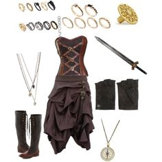 Or normal everyday wear? Adult Costumes, Halloween Costumes, Steampunk Pirate, Gypsy Costume, Pirate Wench, Steampunk Clothing, Pirate Party, Fancy Dress, Cool Outfits