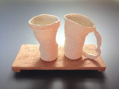 tea time : alice series' porcelain saturated crochet