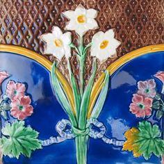 Glazed and Confused: Majolica Showcase: Wedgwood Majolica Tiles