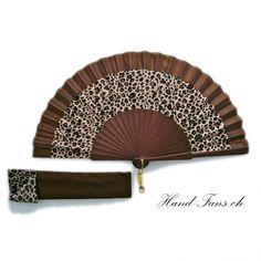 Handfächer Parda Leopardo (hand fans ch)