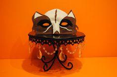 Hand made Wolf Mask made of felt