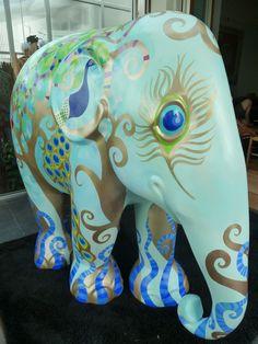 Rebecca Sutherland: The Elephant Parade - Singapore
