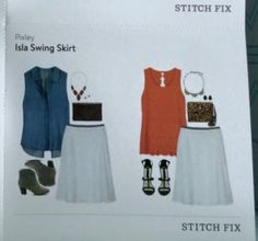 Pixley Isla Swing Skirt...might be a great versatile piece for summer?