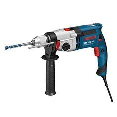 Bosch Professional Gsb 21-2 Re Corded 240 V Impact Drill Bosch high-performance motor (1100 W) with high torque for the most heavy-duty applications with large diametersSturdy metal gear housing for a long lifetimeAntirotation mechanical overload clutch for a high level of work safety, even in the toughest applications  http://industrialsupply.mobi/shop/bosch-professional-gsb-21-2-re-corded-240-v-impact-drill/