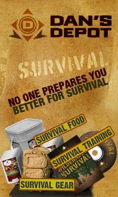 No One Prepares You Better for Survival, Survival food, Survival Supplies, Survival Training