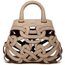 Bally bag - Cute, but how is this practical? #bally
