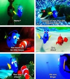 finding nemo she never got his name right