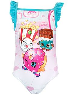 Shopkins Girls Shopkins Swimsuit -- Check out this great image @