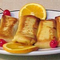 Old Fashioned Cheese Blintzes Recipe- I use cottage cheese for filling with blueberry jam.