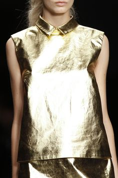 Costume gold-comic    Simone Rocha SS 13