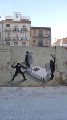 Street Artist: Escif in Valencia *^*\  wall art  graffiti grafic paint street art