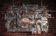Unique clock sculptures created by Bridgeport artist Michael Johnston.  He uses found objects and disassembled electronics to create his fun...