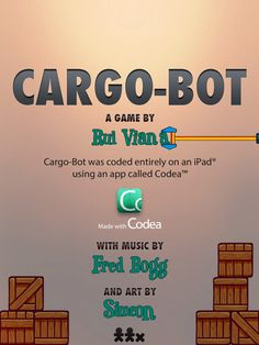 Cargo-Bot great App for learning the basics of programming.