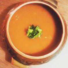 Sopa crema de calabaza Receta en : https://m.facebook.com/comesano.cambiatuvida.com.ar #calabaza #sopa #verduras #food #comida #saludable #caldo