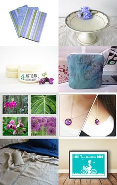 Blue Gift Guide by Irene Sheyko on Etsy--Pinned with TreasuryPin.com