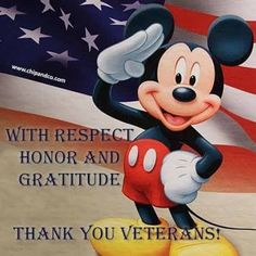 Mickey Mouse and Veterans Day - World Memes Mickey Mouse Pictures, Mickey Mouse And Friends, Mickey Minnie Mouse, Disney Pictures, Disney Mickey, Disney Pics, Disney Memes, Disney Quotes, Disney Cartoons