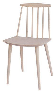 Chaise J77 Chair / Bois Bois clair - Hay - Décoration et mobilier design avec Made in Design