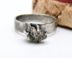 Hey, I found this really awesome Etsy listing at https://www.etsy.com/listing/159256498/rustic-diamond-engagement-ring-sterling
