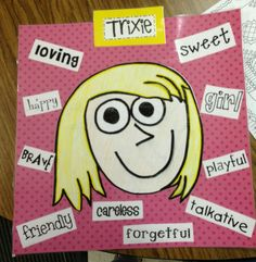 Mo Willems author study-Trixie character traits