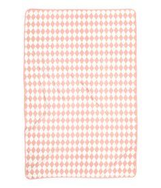Fleece plaid | Lichtroze/dessin | Home | H&M NL