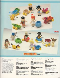 """Coleco """"The Flintstone Kids"""" figures and vehicles Flintstone Kids, Captain Caveman, I Have A Secret, Preschool Toys, My Childhood Memories, Spin, Playroom, Kids Toys, Two By Two"""