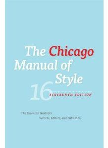 My #1 writing resource for style and grammar: Chicago Manual of Style