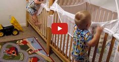 OMG! These Adorable Toddler Twins Put Themselves to Bed!