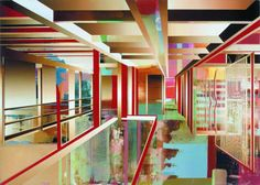 martin kobe Artist Project, Kobe, Geometric Shapes, Paintings, Interiors, Urban, Artists, Models, Architecture