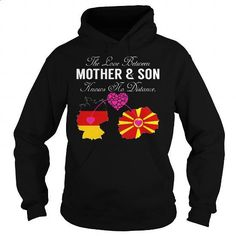 The Love Between Mother and Son - Germany Macedonia - #cheap tees #hoodies for boys. I WANT THIS => https://www.sunfrog.com/States/The-Love-Between-Mother-and-Son--Germany-Macedonia-Black-Hoodie.html?id=60505