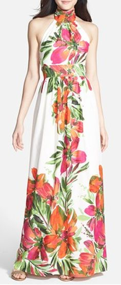 halter chiffon maxi dress  http://rstyle.me/n/ngsk6pdpe