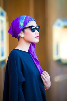 Wearing: NINI circle dress in black, Balenciaga leggings, Alexander McQueen booties, Hermes scarf & watch, vintage pearl earrings, Sue Gragg ring.