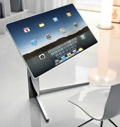 Table and a computer concept [ http://CaptainMarketing.com ] #technology #online #marketing | Repinned by /keilonegordon/