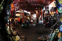 Marrakech Souks, Morocco
